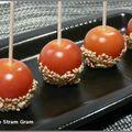 Tomates cerise façon pommes d'amour