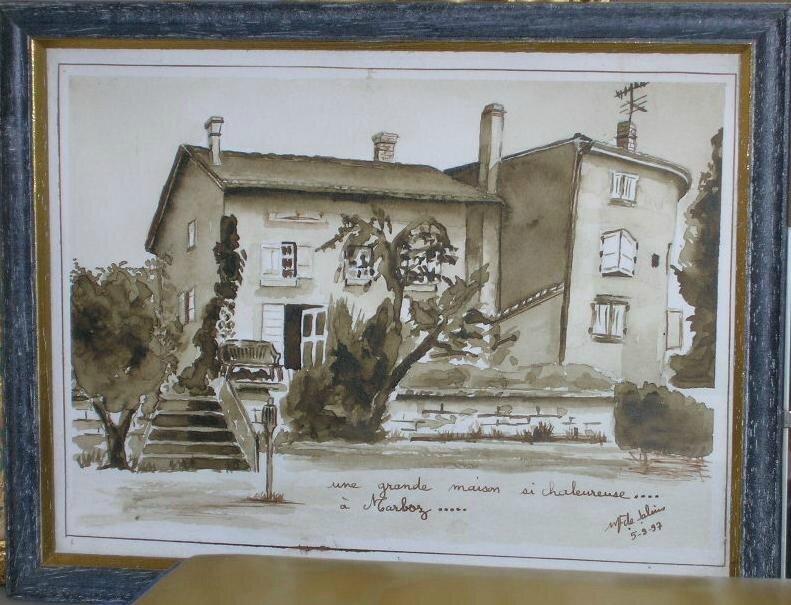 Chez René et Agnès à Marboz