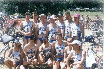 Juin 1996, club ASPTT Orléans