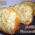 Cake jambon et mozzarella