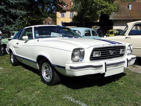 FORD Mustang II Ghia Coupe 1977 Festival des Vieilles Mecaniques de Neuwiller-Les-Saverne 2009 1
