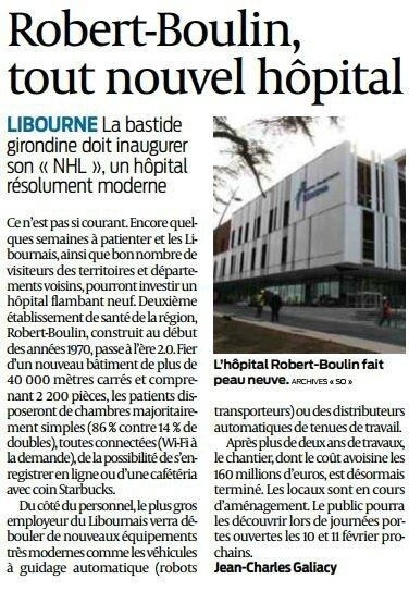 2018 01 06 SO Robert-Boulin tout nouvel hôpital