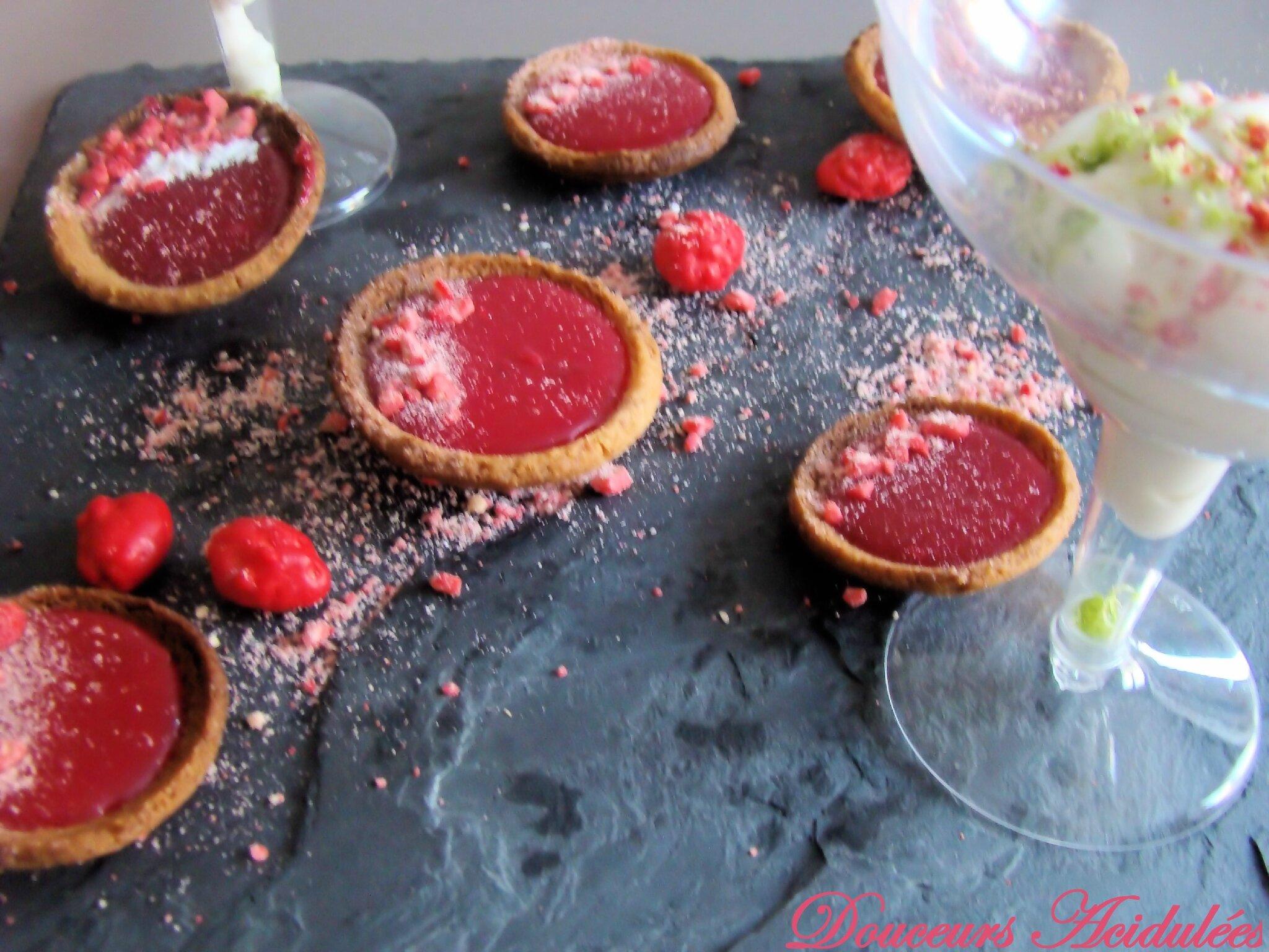 Tartelettes aux pralines roses de Michalak