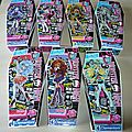 Lot de 7 puzzles 150 pièces monster high clementoni neuf