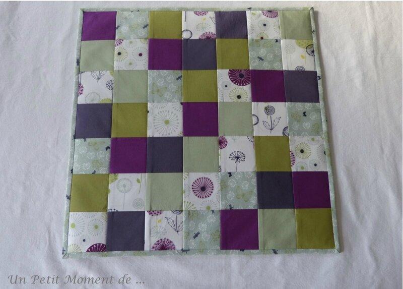 Set carré et mug rug 2