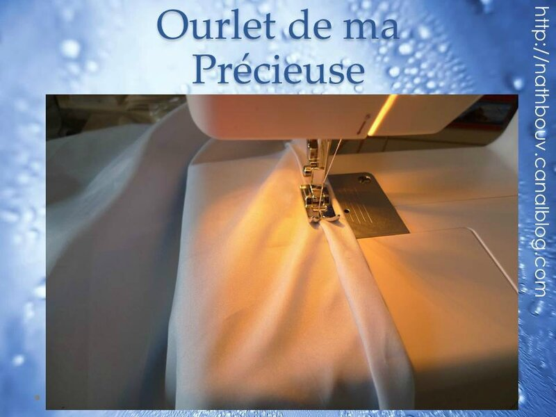 robe ourlet