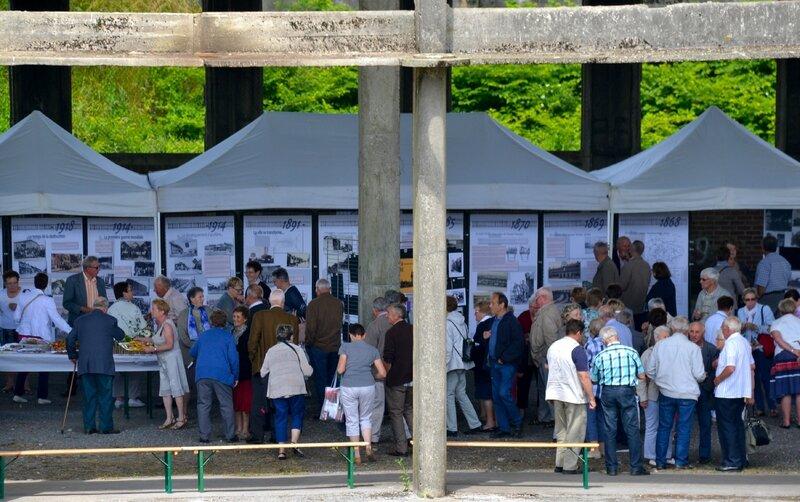 SYNDICAT DES ANCIENS EXPLOITANTS AGRICOLES AISNE 2016 ROTONDE panneaux Marcel Bouleau