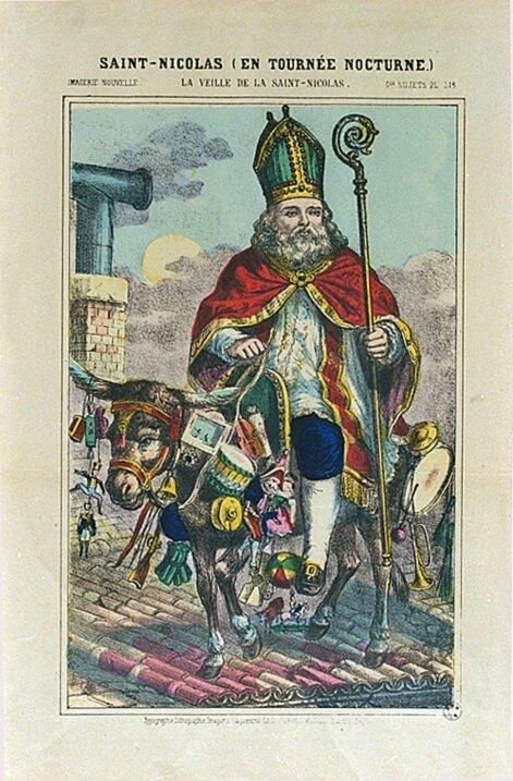 Saint Nicolas en tournée nocturne