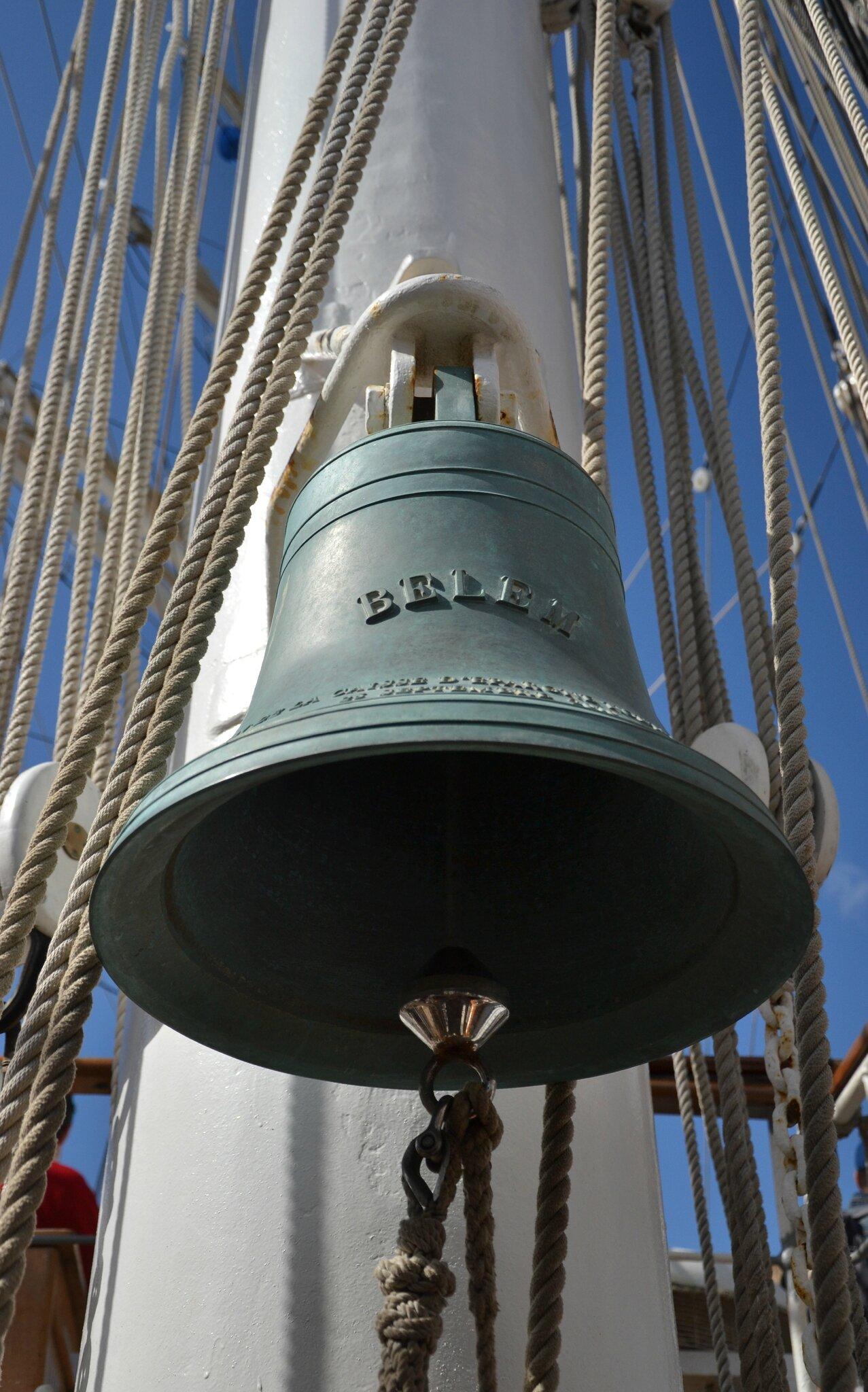 A Bord du Bélem au port de saintBrieuc
