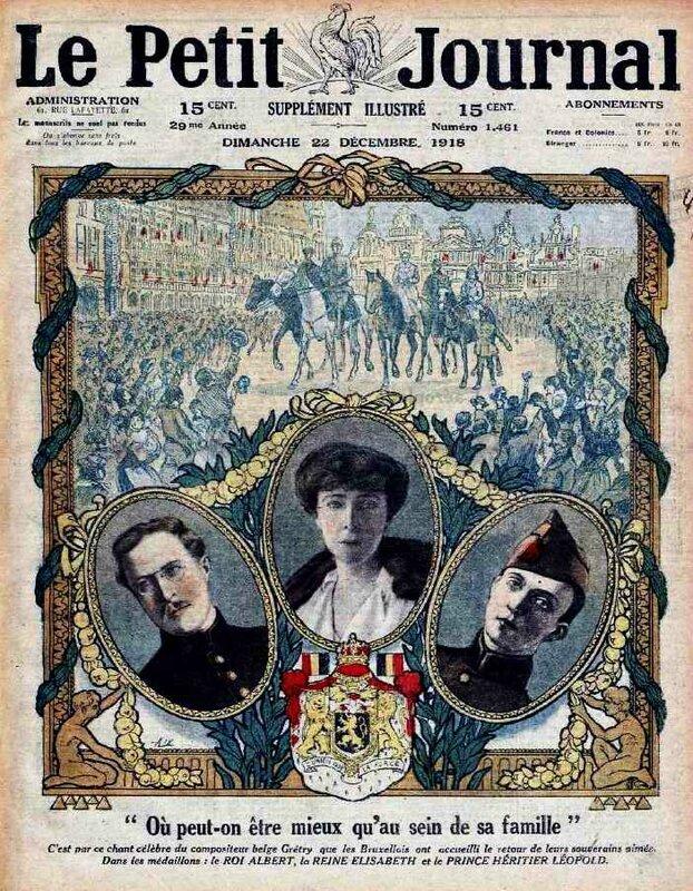 Le Petit Journal 22 12 1918