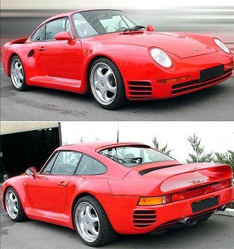 PORSCHE - 959 Comfort 640 bhp Replica based on a 993 Turbo - 1995