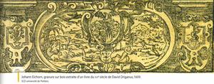 Gravure sur bois de Johann Eichorn