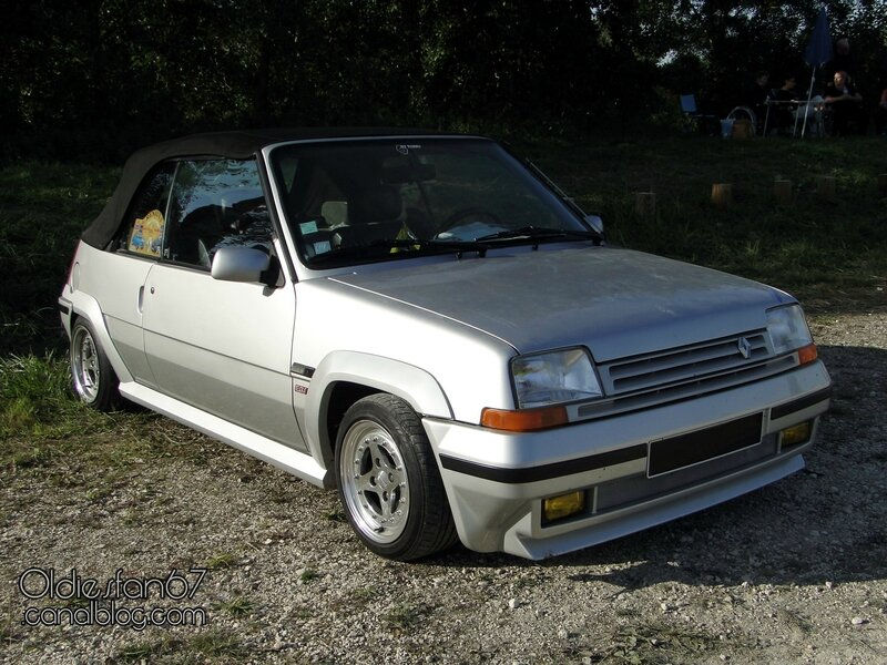 renault 5 gt turbo ebs cabriolet phase 2 1991 oldiesfan67 mon blog auto. Black Bedroom Furniture Sets. Home Design Ideas
