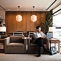 Nouveau salon en juin pour cathay pacific à hong kong