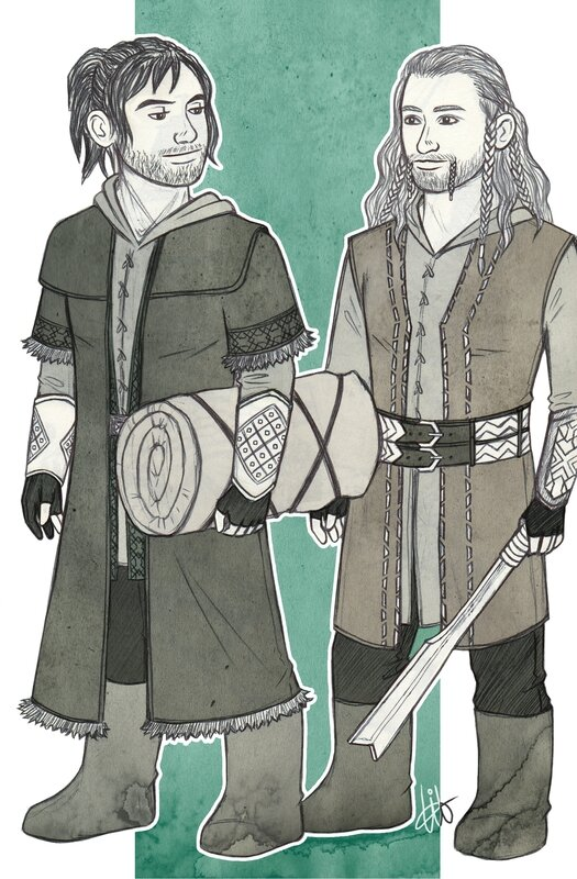 Fíli & Kíli - To the Shire