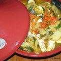 Tajine de poisson aux légumes d'été (6 pp)