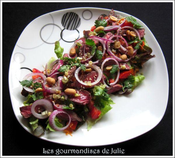 salade boeuf thai