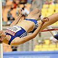 Jeux olympiques londres 2012 : qualifications pour le saut en hauteur femmes