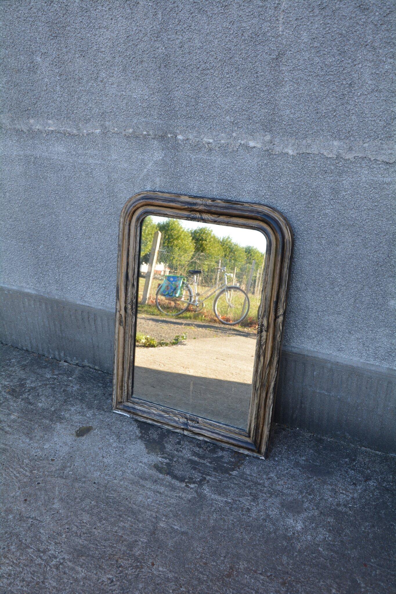 Miroir trumeau la petite brocanteuse for Miroir paris 18