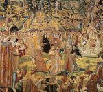 Extrait de la tapisserie des Valois