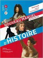 Nouveau manuel d'Histoire couv