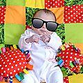 Tapis douillet pour bébé (patchwork)