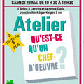 Atelier chefs-d'oeuvre