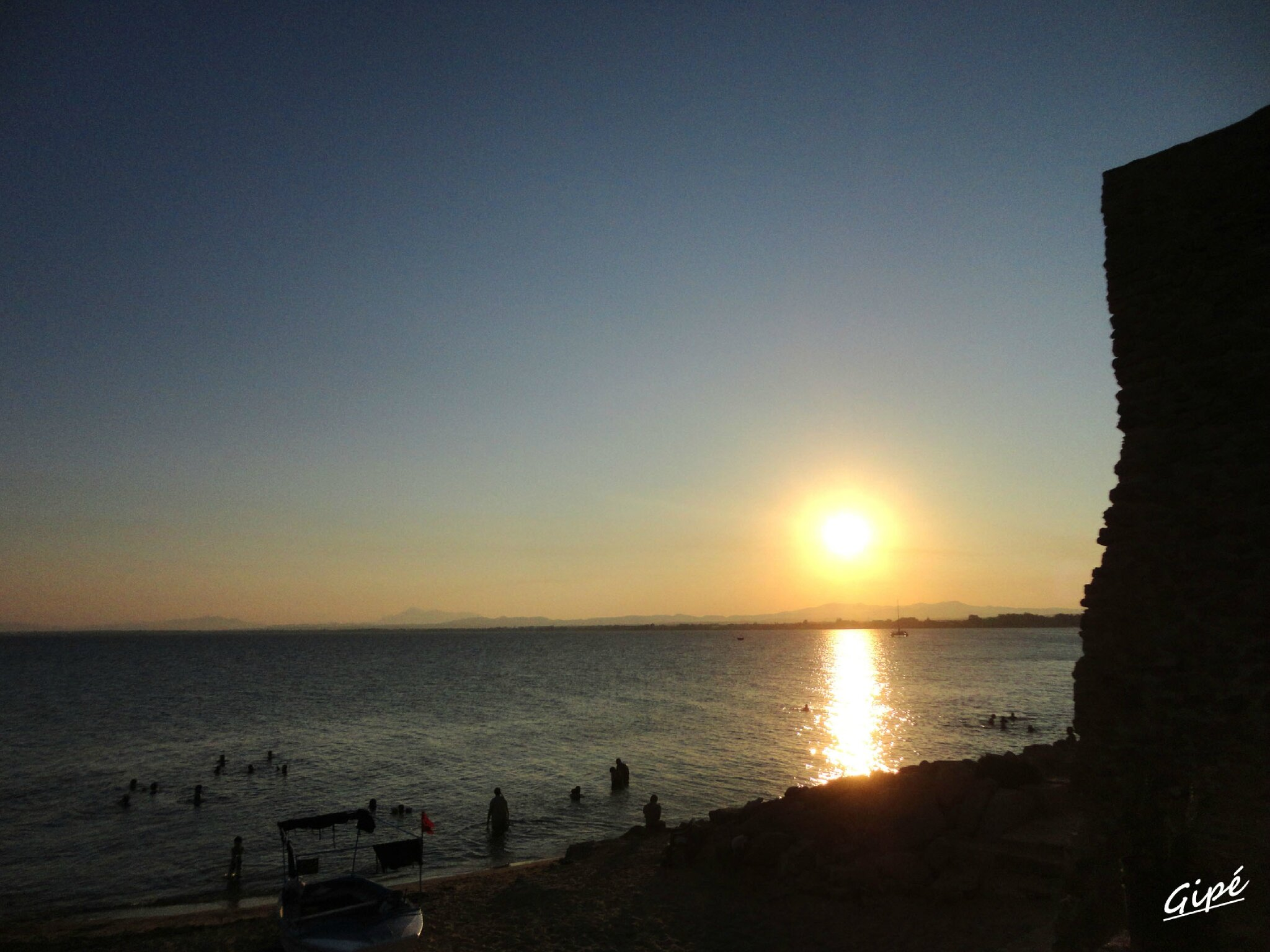 Coucher de soleil du jeudi 25 juillet 2013