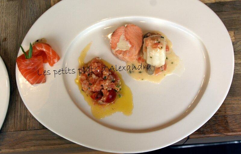 assiette de saumon1