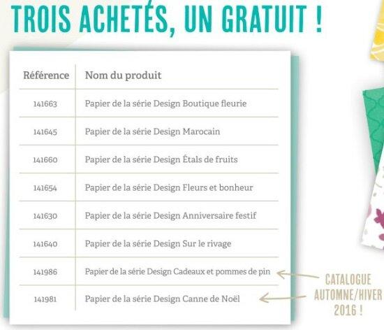 promo papiers design
