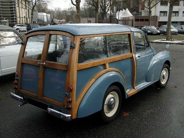 Morris minor 1000 traveller 1956 1971 b