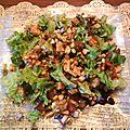 Salade mixte envie d'un repas complet sans passer