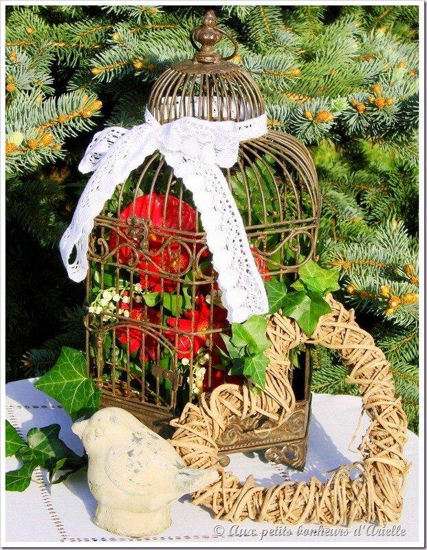 Cage à oiseaux 2 © Aux petits bonheurs d'Arielle