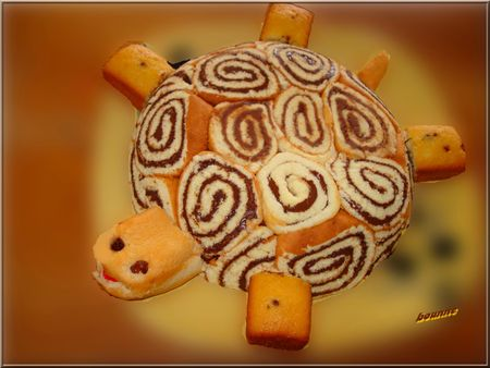 gateau tortue
