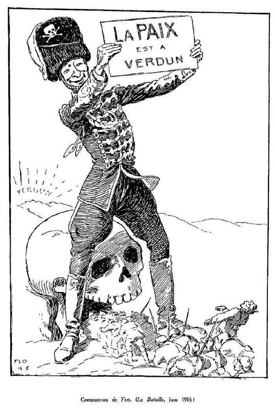 Dessins de guerre Verdun27