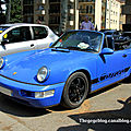Porsche 911 carrera 2 convertible (Retrorencard juin 2010) 01