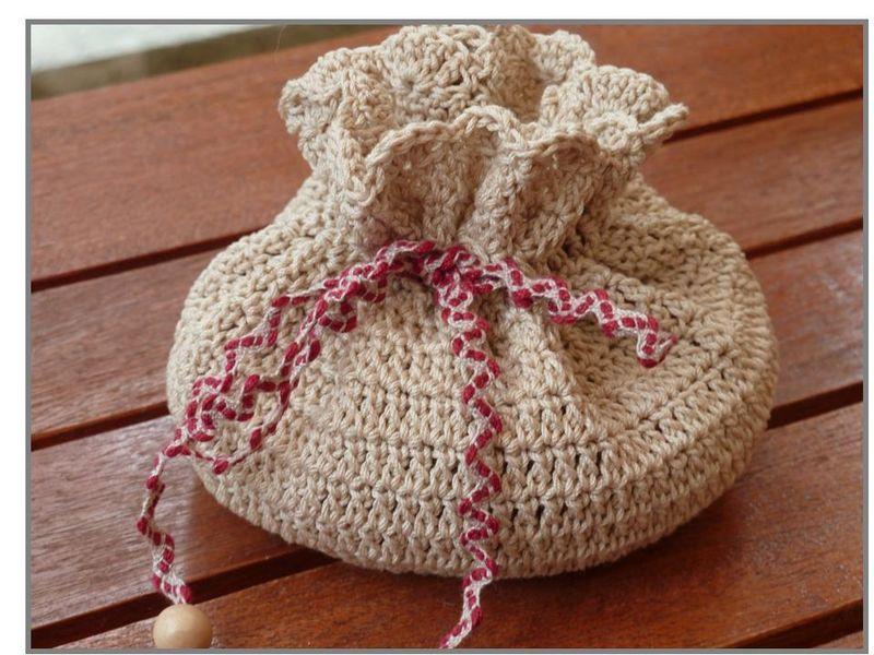 Tricoter une bourse - Apprendre a tricoter gratuitement ...