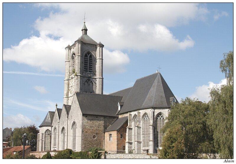 l'église de braine-le-comte