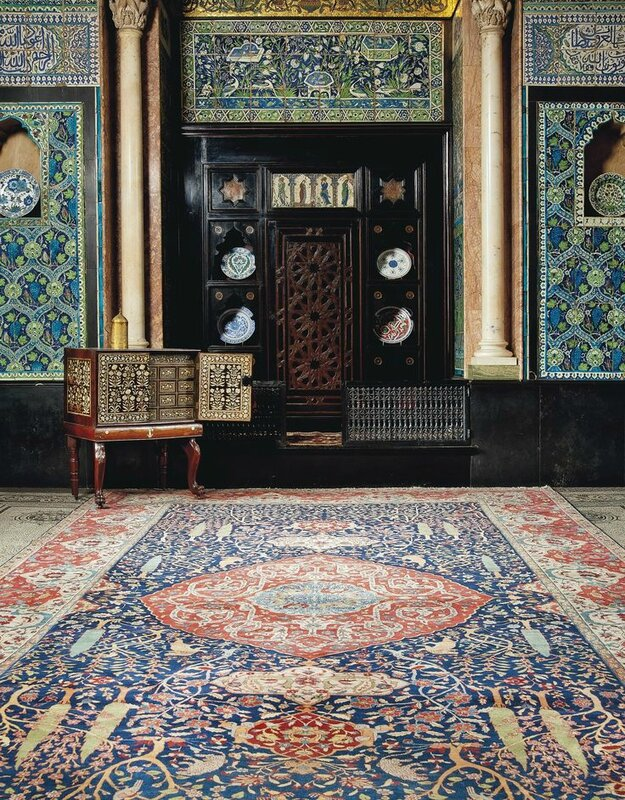 A Petag Tabriz carpet from North West Persia, Circa 1920.