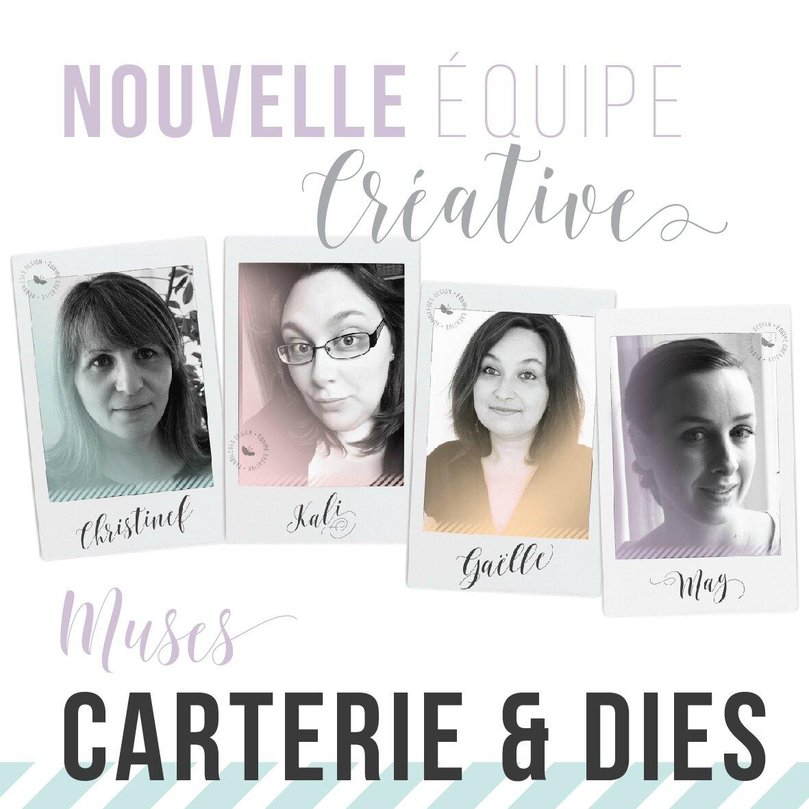 """Thème de la semaine """"Carterie & Dies"""" & challenge !"""