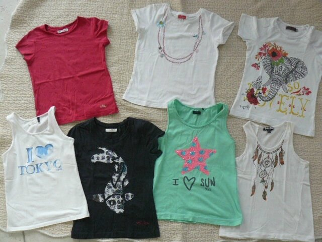 8ans fringues kids ( jupe pepe 10A et diesel taille7) 160