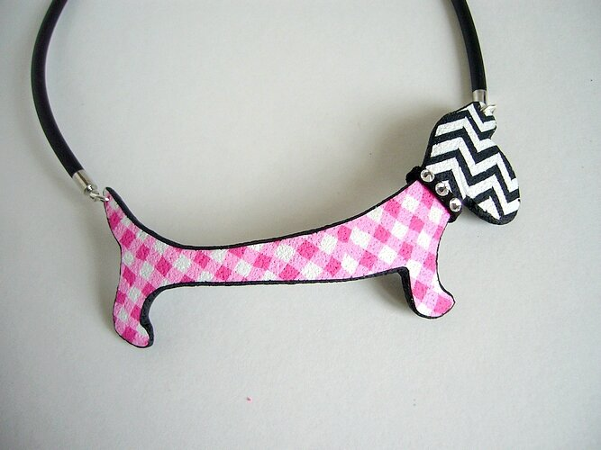 girly collier chien
