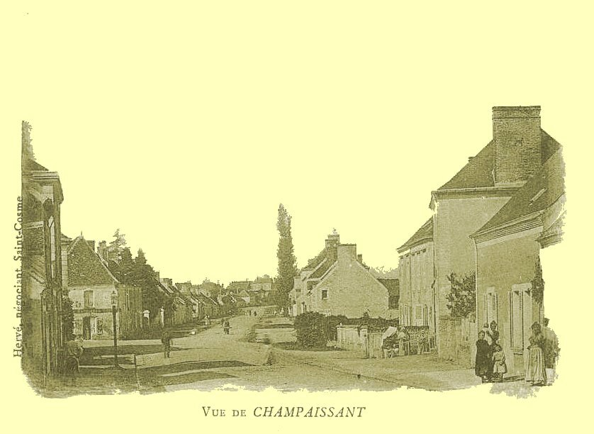 1er mars 1789 à Champaissant : Rédaction du cahier de Doléance.