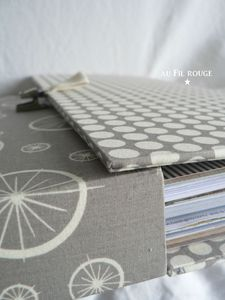 Valise pour papier scrap dtail 2
