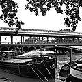 métro ligne 6 et pont de Bir Hakeim