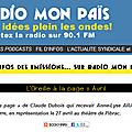Annelyse aragou présente 4 opéras de poche sur la radio mon païs, le 11 avril