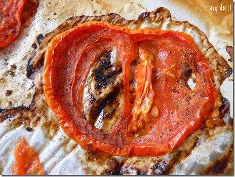 1 Tarte en croute de polenta