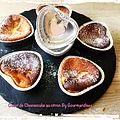 coeur de cheesecake au citron ( 45 cal/ pièce)