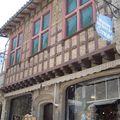 Carcassone-façade de maison