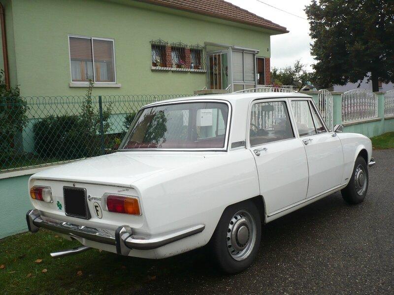 ALFA ROMEO 1750 berline 1968 Rustenhart (2)